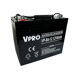 Аккумулятор Volt Polska VPRO 75 Ah 12V AGM VRLA черный (6AKUAGM075)