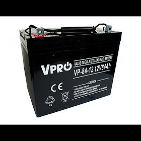 Аккумулятор Volt Polska VPRO 84 Ah 12V AGM VRLA черный (6AKUAGM084)