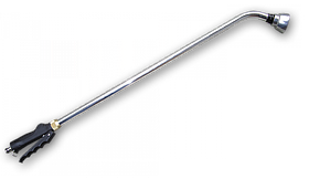 """Ороситель ручной """"ситечко"""" COMFORT 90, с краном, CYNK CHROM, CH-KT436AFT"""