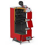 Котел твердотопливный DEFRO KDR PLUS 3 (с автоматикой) 20 кВт. красно-серый, фото 2