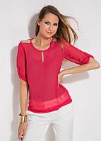 Женская розовая блуза MA&GI, фото 1