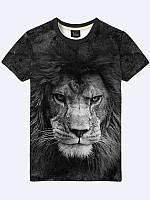 Мужская  Футболка Грозный лев