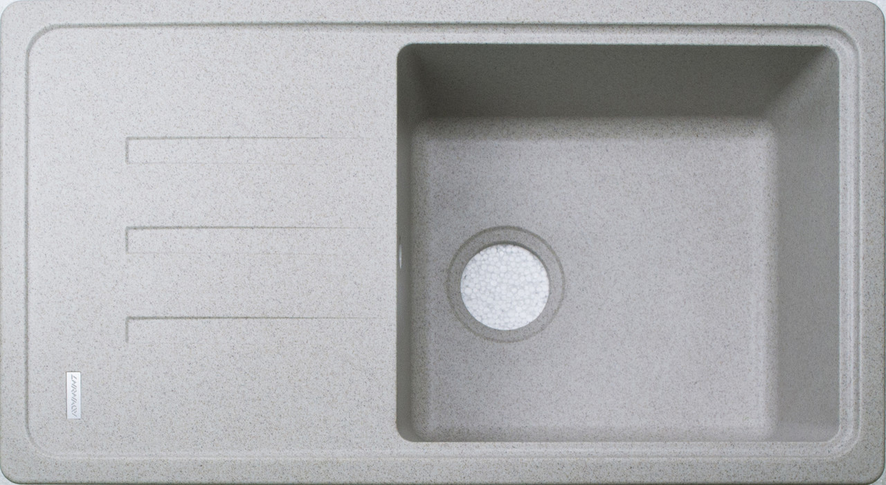 Гранитная кухонная мойка Adamant SLIM LONG TERRA-07