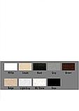 УМЫВАЛЬНИК ВРЕЗНОЙ ADAMANT COMFY 540Х425 BLACK & WHITE (серый), фото 3