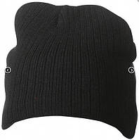 Классическая шапочка ребристая вязка 7923-1