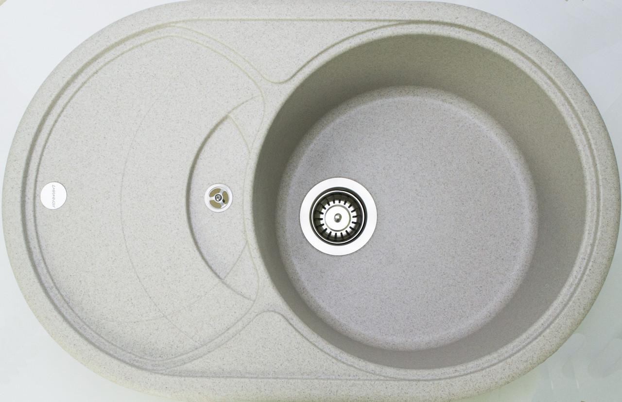 Гранитная кухонная мойка Adamant SHELL TERRA-07
