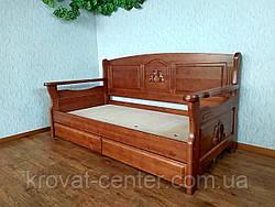 """Детский диван - кровать с ящиками из массива дерева """"Орфей Премиум"""" от производителя, фото 3"""