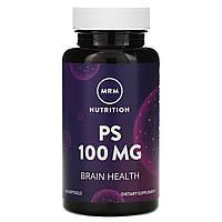 MRM, Nutrition, PS, 100 mg, 60 , официальный сайт, MRM-56010