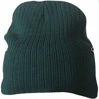 Классическая шапочка ребристая вязка 7923-2