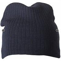 Классическая шапочка ребристая вязка 7923-4