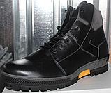 Ботинки мужские зимние большого размера от производителя модель ДР1215, фото 2