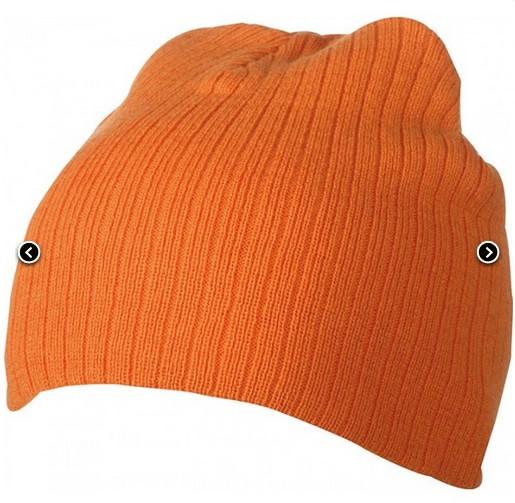 Классическая шапочка ребристая вязка 7923-6