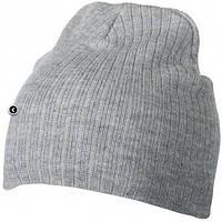 Классическая шапочка ребристая вязка 7923-8