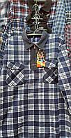 Рубашка теплая мужская на змейке норма
