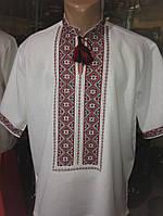 Вишиванка чоловіча на короткий рукав з традиційним орнаментом