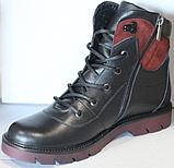 Ботинки женские зимние кожаные от производителя модель ДР1713, фото 2