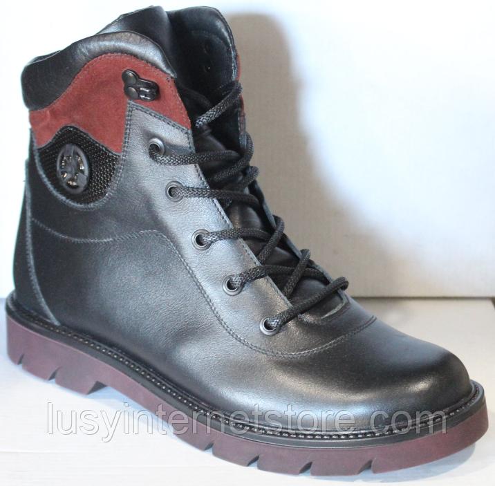 Ботинки женские зимние кожаные от производителя модель ДР1713