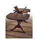 Кухонный комплект -Вавилон. Стол раздвижной и 4 стула. Цвет - т.орех, фото 5