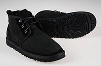 Ботинки мужские Ugg Australia Neumel  замшевые черные