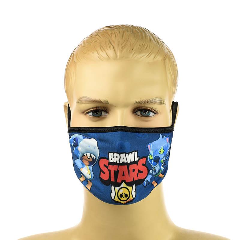 "Детская маска  ""Brawl Stars"""