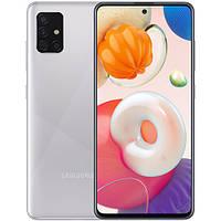 Samsung Galaxy A51 6/128Gb (A515/DS) UA-UCRF 12 мес Metallic Silver, фото 1