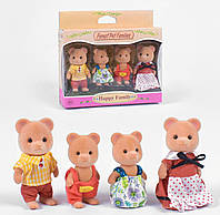 Семья медвежат,фигурки животных,фигурки медвежата Sylvanian Families (аналог), фото 1