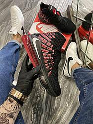 Чоловічі кросівки Nike LeBron 17 Black Red (чорні)