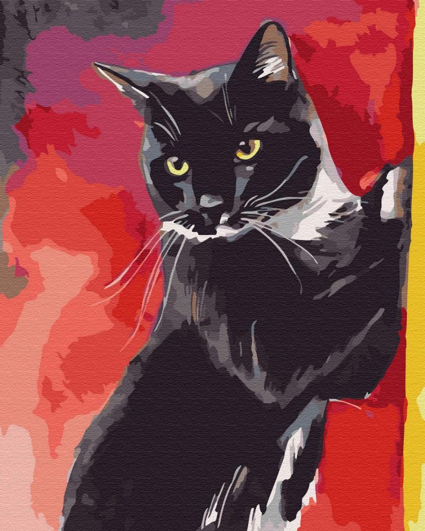 Картина за номерами - Містер Кіт Brushme 40*50 див. (GX32337)