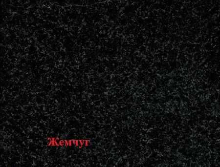 Тротуарна плитка цегла 200х100 з фаскою поверхня меланж Перли (граніти на чорному) товщина 80 мм