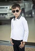 Сорочка - поло підліткова для хлопчика в кольорах 52895