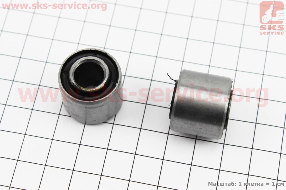 Сайлентблок двигателя 22*10*20/18 к-кт 2шт на скутер
