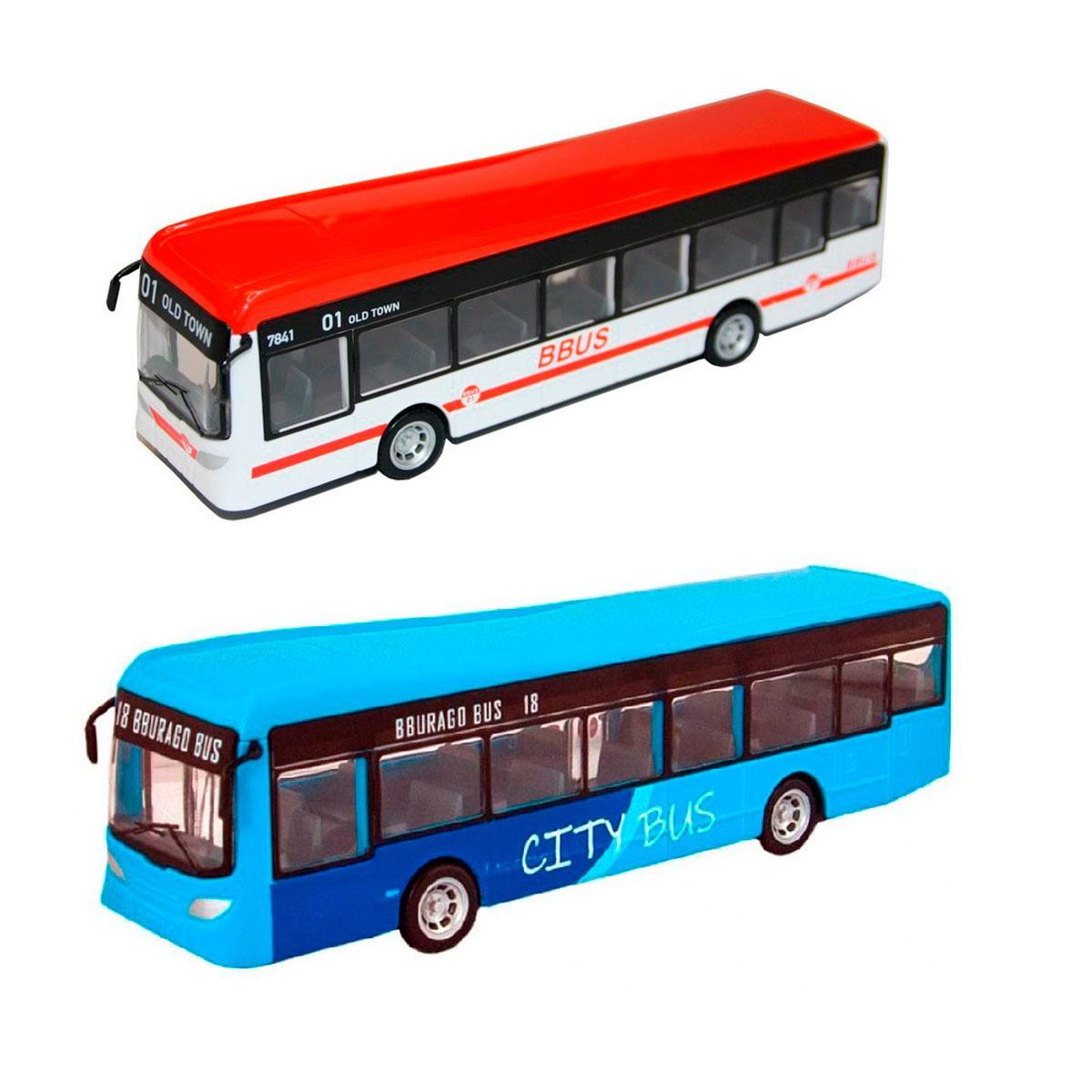 Городской автобус серии  City Bus Bburago 18-32102 (в ассортименте)