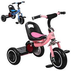 Велосипед детский трехколесный Turbo Trike M 3650-M-1 розовый и голубой **