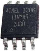 Чип ATtiny85 ATtiny85-20SU SOP8, микроконтроллер