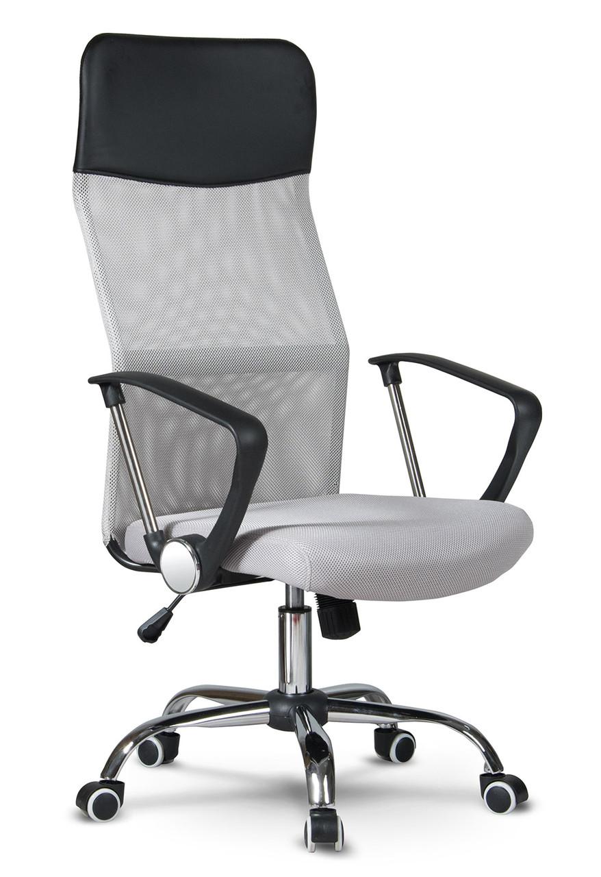 Кресло офисное с mikrosiatki Sofotel Sydney светло-серый