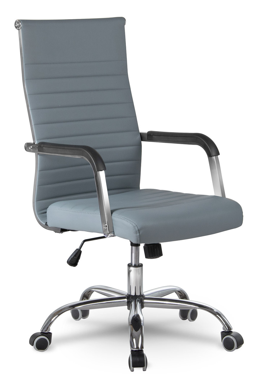 Кресло офисное современного дизайна Sofotel Boston серый