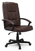 Кресло стул офисный кожаный Sofotel EG-234 коричневый, фото 1