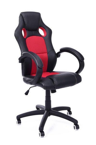 Кресло компьюторное RACER XS czarno - czerwony + gratis !