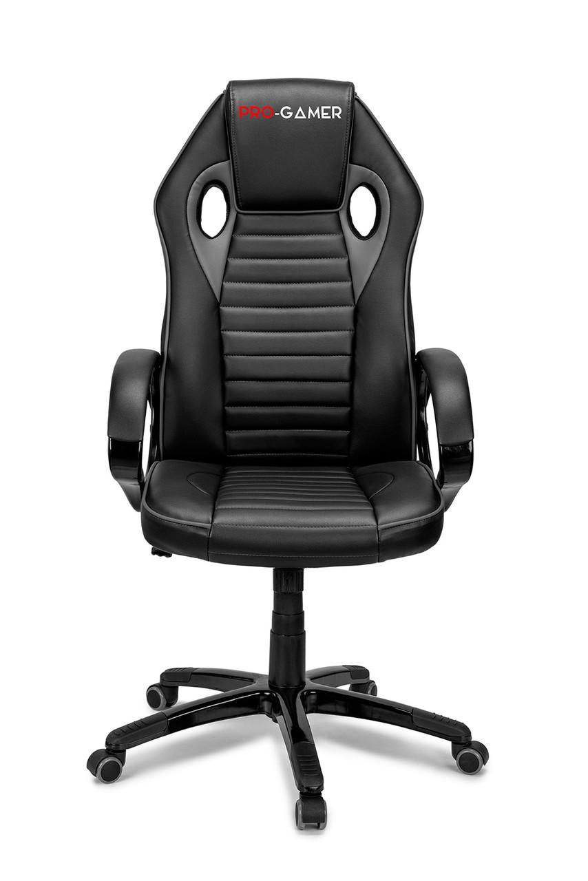 Геймерское компьютерное кресло FLAME серый