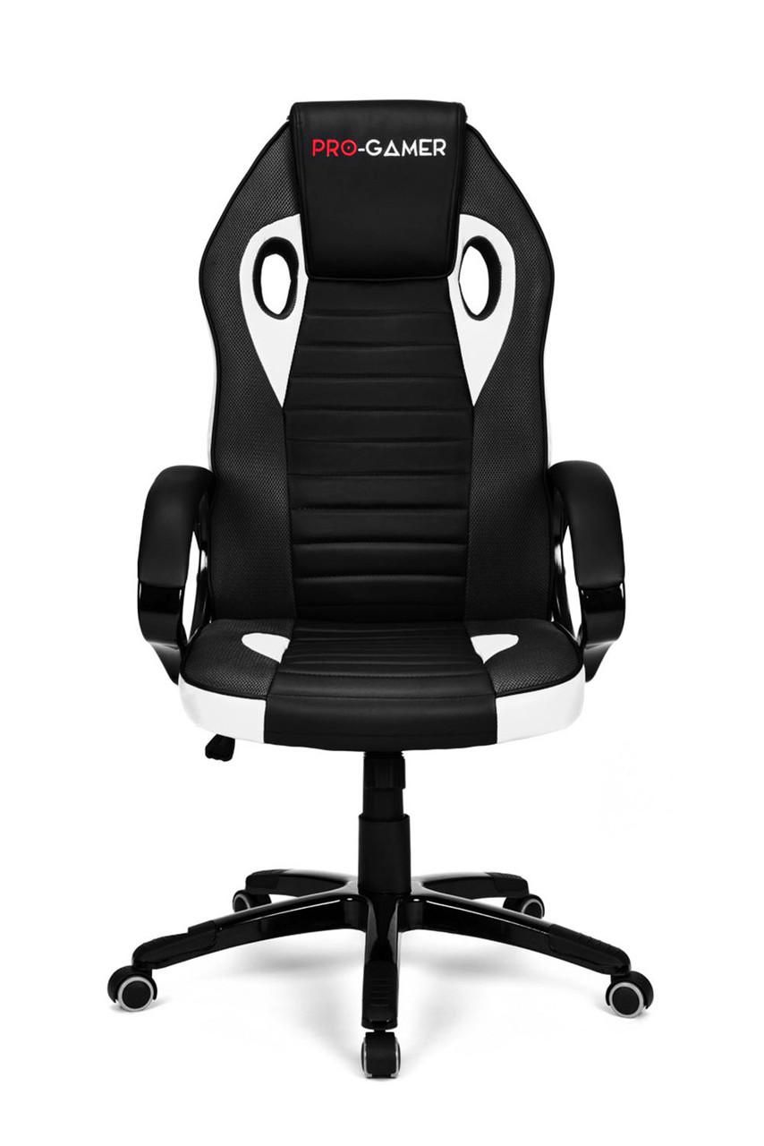 Геймерское компьютерное кресло FLAME PLUS белый