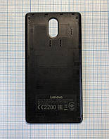 Задня кришка Lenovo P1ma40 чорна матоваOriginal б/в