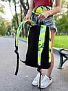 """Стильный рюкзак от украинского бренда с принтом """"Лимоны"""", фото 2"""