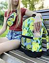 """Стильный рюкзак от украинского бренда с принтом """"Лимоны"""", фото 3"""