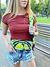 """Стильный рюкзак от украинского бренда с принтом """"Лимоны"""", фото 4"""