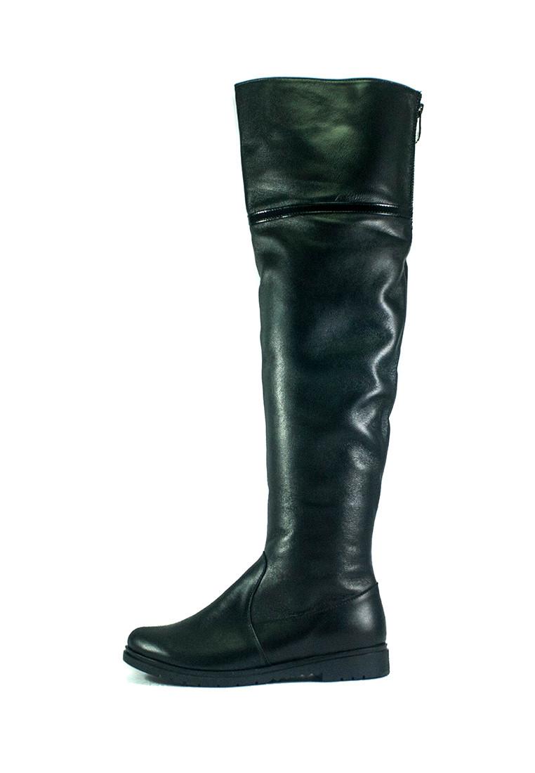 Ботфорты зимние женские ZARUI ZAR420 ЧК черные (37)