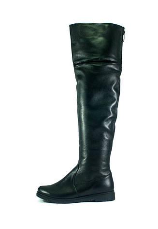 Ботфорты зимние женские ZARUI ZAR420 ЧК черные (37), фото 2