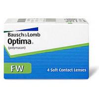 Контактные линзы Bausch and Lomb Optima (Оптима) FW. 4 шт/упак