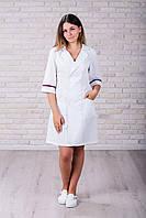 Женский медицинский халат 105 (Фиолетовый) 42 размер
