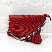 Сумка клатч / Сумка клатч, червоний, екошкіра Арт.6013 Princessa (Китай) (Сумка-клатч жіночий через