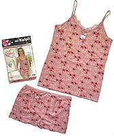 Женская пижама с шортами L Хлопок Турция 06
